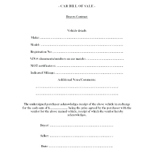 Bill Of Sale Template Doc Bill Of Sale Word Doc Example Of