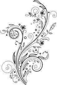 ポップでかわいい花のイラストフリー素材no1080手書き風