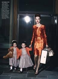 Natalia Vodianova Ewan Mcgregor For Vogue Us 七月Pic Family 照片从 ...