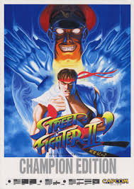 the arcade flyer archive video game flyers street fighter ii