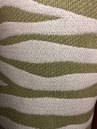 Designer Knit Fabric By The Yard Designer Fabric By The Yard Zebra Woven Texture Apple Green Off White Beige Meter Drapery Craft Upholstery Bedding Pillow Cushion Curtains