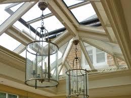 interior lantern lighting. Roof Lighting. Example Of Pendant Lighting Hung From A Lantern O Interior I