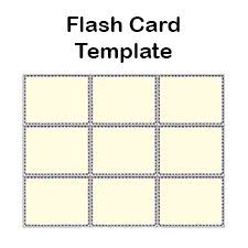 Flashcard Templates Blank Flash Card Templates Printable Flash Cards Pdf Format