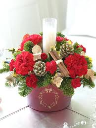 Christmas Floral Arrangements Make Your Own Flower Arrangements On Flower  Arranging Can Be All Home Improvement