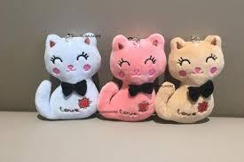 <b>3Colors</b> , <b>Little Size</b> 8CM NEW Cat Plush , Animal Stuffed Kitty Cat ...
