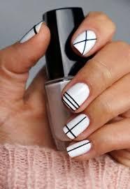 Best 25+ Line nail designs ideas on Pinterest | White nail art ...