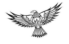 eagles clipart free download. Wonderful Free Flying Eagle Clipart Free Vector On Eagles Clipart Download E