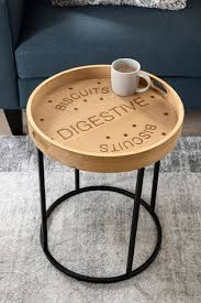 digestive tray side table from the