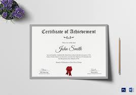 School Certificate Design Psd Elementary School Certificate Template