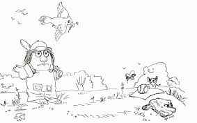 Little Critter Coloring Page Coloring Home