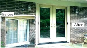 replace sliding door with window sliding glass door with window cost to replace sl how replace