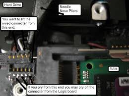 broke my logic board ir sensor clip macrumors forums removing ir cable 3 jpg