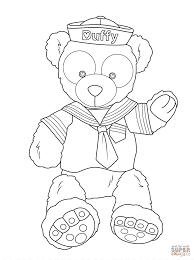 Select from 35429 printable crafts of cartoons, nature, animals, bible and many more. Duffy The Disney Bear Teddy Bear Toy Doll Ipad Coloring Pages White Mammal Png Pngegg