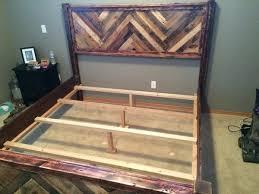 pallet king size bed wonderful pallet king size beds frame ideas pallets designs