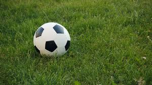 green grass soccer field. Soccer Ball On The Field With Natural Grass Stock Video Footage -  Videoblocks Green Soccer