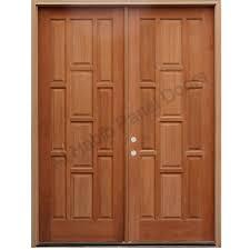 Solid Wood Main Double Door Hpd413 - Main Doors - Al Habib Panel ...