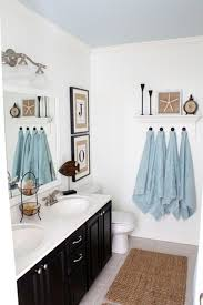 Nautical Bathroom Decorations Coastal Decor For Bathrooms Elegant Beach Themed Bathroom Concept