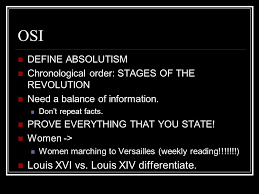 essay issues french revolution ppt  louis xiv differentiate define absolutism