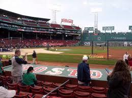 Boston Red Sox Seating Chart Map Seatgeek