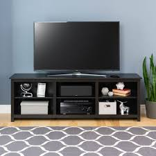 prepac sonoma 72 inch tv stand black