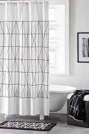 white and black shower curtain. DKNY Geometrix Shower Curtain White/Black White And Black R