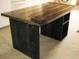 rustic wood office desk. computer desk office rustic modern farmhouse 68500 via etsy wood d