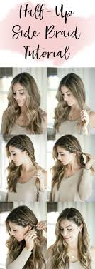 Very Easy Cute Hairstyles 25 Best Ideas About Easy Side Braid On Pinterest Side Braid