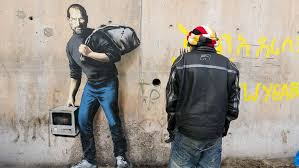 banksy who speaks minimally issued the following statement i m certain for clarity purposes to the new york times steve jobs