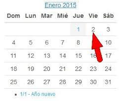 Calendario 2015 Argentina Es Feriado Puente El 2 De Enero De 2015