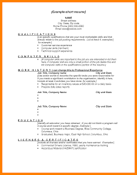 Good Resume Skills And Abilities Free Template Skill Based Example
