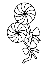 Small Picture Lollipop Coloring Page Coloring page patterns Pinterest