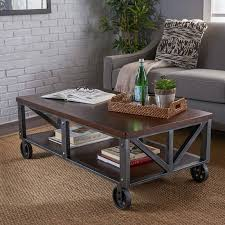 End table trunk, rustic furniture, coffee table trunk, farmhouse style crate trunk line amazon $ 429.00. 10 Coffee Tables On Wheels To Diy Before The End Of Summer