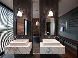 double vanity with two mirrors. 5 bathroom mirror ideas for a double vanity // two rectangular mirrors lets each person with