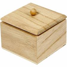 Plain Wooden Boxes To Decorate Mini Wooden Box with Lid Set of 100 Plain Craft Decorate 61