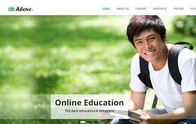 Templates For Education 28 Best Free School Website Templates 2019 Webthemez