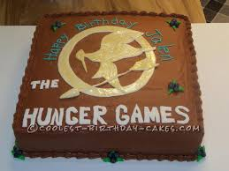 really cool hunger games cakes. Contemporary Really I Made This Hunger Games Cake For My Best Friendu0027s Granddaughter It Was  First Attempt With The Theme Used Fondant Mockingbird And  Intended Really Cool Cakes R