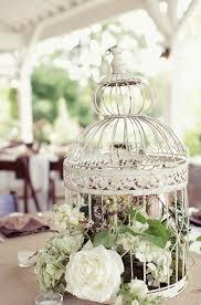 Flower Birdcage Centerpiece