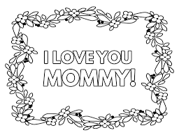Coloring pages i love you to the moon and back with. Free Printable I Love You Mom Coloring Pages What Mommy Does