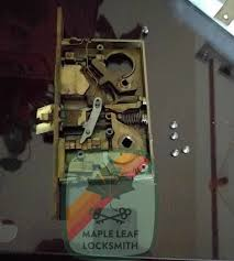 here s a baldwin mortise lock that i recently fixed usually these have broken springs