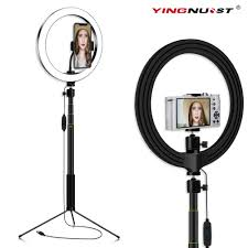 Ring Light With Phone Holder Big Offer 7964 26cm 10inch Ring Light With Tripod Stand