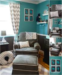 Teal And Gray Bedroom Similiar Teal Gray White Nursery Keywords