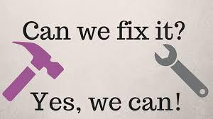 Bildergebnis für can we fix it