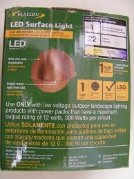 malibu copper landscape lights by malibu low voltage led surface light real copper fixture 1 watt