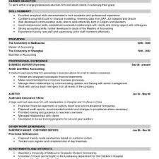 Best Example Of Resume Format Perfect Best Resume Model Download
