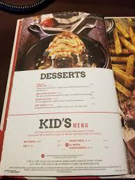 180523 cedar point tgifridays menu desserts kids menu