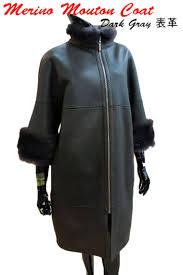 rnaa women s hand stitched table leather shearling coats fur merton were rakuten global market