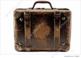 Antiques, Old Suitcase: Old Suitcase