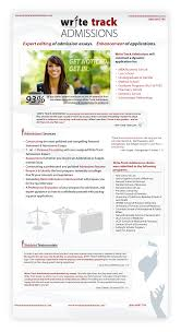 mba essay help by business school consultants write track admissions general flyer
