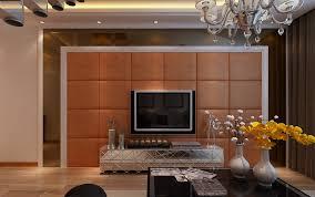 Interior design plaid TV wall