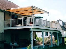 Y Awning Over Deck Beautiful Ideas About Awnings On Retractable  Canopy For Sunshade Shelter
